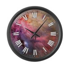 Orion Nebula Large Wall Clock