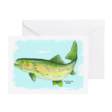 Trout Birthday Cards (Pk of 10)