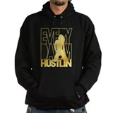 Everyday Im Hustlin - Sexy Gold  Hoodie