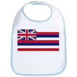 Hawaiian Flag Bib