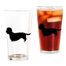 Dandie Dinmont Drinking Glass