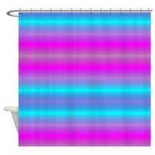 Fluorescent Neon Shower Curtain