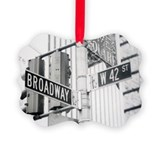 NY Broadway Times Square - Picture Ornament