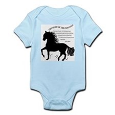 The Music of the Paso Fino Infant Bodysuit
