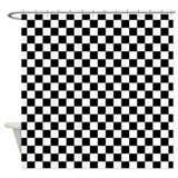 Checkered Board Shower Curtain
