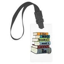 I Like Big Books Luggage Tag