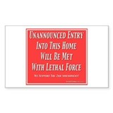 Lethal Force Decal