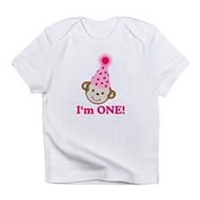 Im ONE Monkey Girl Infant T-Shirt