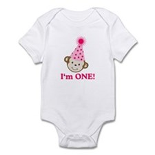 Im ONE Monkey Girl Onesie