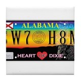 SWEET HOME ALABAMA Tile Coaster