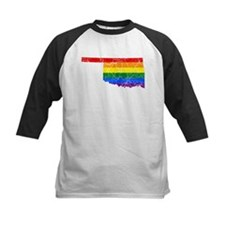 Oakland Rainbow Pride Flag And Map Tee