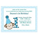 Monkey Invitations & Announcements