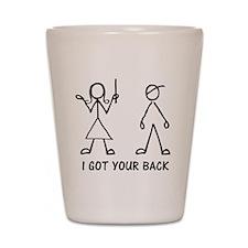 I Got Your Back Shot Glass