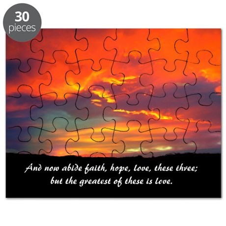 Faith Hope Love Puzzle