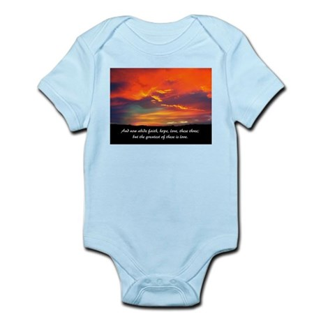 Faith Hope Love Infant Bodysuit
