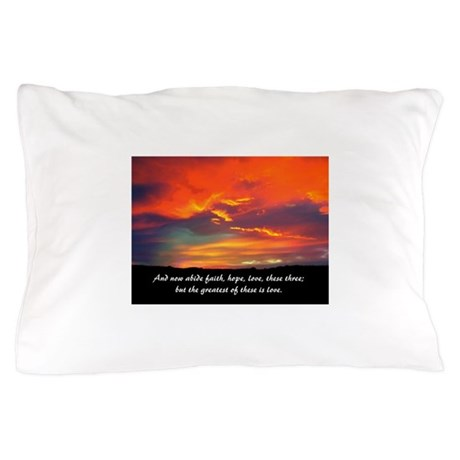 Faith Hope Love Pillow Case