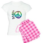 Rainbow Peace Women's Light Pajamas