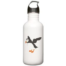 Puffin with Wings Water Bottle