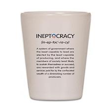 Ineptocracy Shot Glass