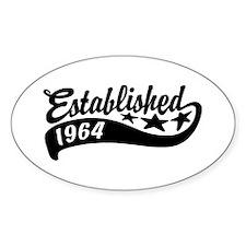 Established 1964 Decal