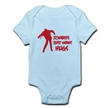 Zombies just want hugs Infant Bodysuit