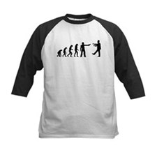 Evolution of man vs zombie Tee