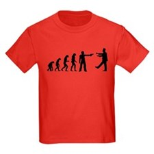 Evolution of man vs zombie T