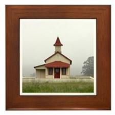 Old Schoolhouse Framed Tile