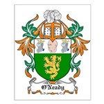 O'Neady Coat of Arms Small Poster