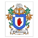 O'Mulrooney Coat of Arms Small Poster