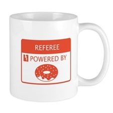 Referee Powered by Doughnuts Mug