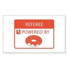Referee Powered by Doughnuts Decal