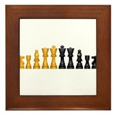 Family of Chess Framed Tile