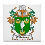 O'Muldoon Coat of Arms Tile Coaster