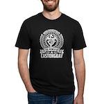 Heart Samurai 3/4 Sleeve T-shirt (Dark)