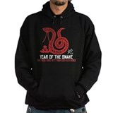 Chinese Paper Cut Year of The Snake Hoody