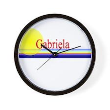 Gabriela Wall Clock