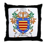 O'Marlay Coat of Arms Throw Pillow