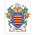 O'Marlay Coat of Arms Small Poster