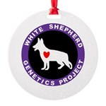 WSGP Logo Round Ornament