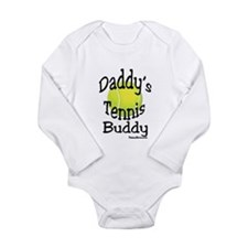 Funny Tennis baby Long Sleeve Infant Bodysuit
