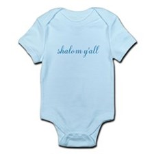 Shalom Y'all Infant Bodysuit