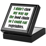 Vegetable Claw Keepsake Box