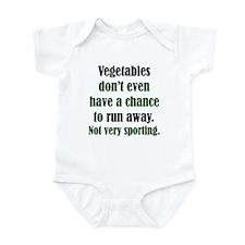 Veggies Run Away Infant Creeper