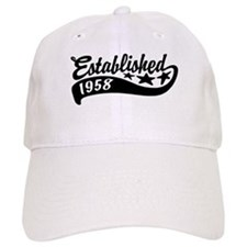 Established 1958 Baseball Cap