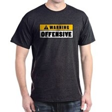 Warning Offensive Lockout T-Shirt