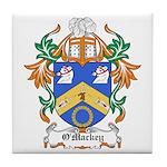 O'Mackey Coat of Arms Tile Coaster