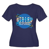 Nibiru 12.21.2012 Women's Plus Size Scoop Neck Dar