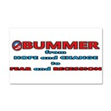 Obummer Fear and Recession Car Magnet 20 x 12
