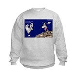 Michael Jackson Moonwalks On The Moon? Sweatshirt